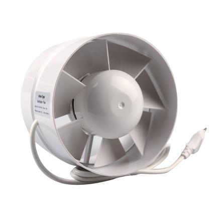 "Малък Пластмасов Центробежен Вентилатор - 100мм (4"") - 130м3"