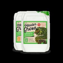 Master Grow А+В е основен тор за растеж, селектиран с цел да осигурява перфектното съотношение на хранителни вещества